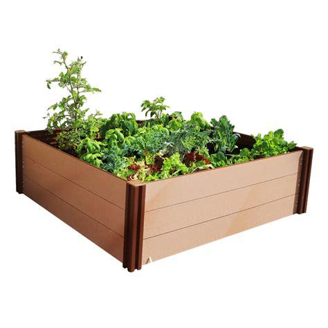 prefab garden beds holman 1000 x 1000 x 300mm modular raised garden bed bunnings warehouse
