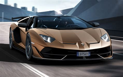lamborghini aventador svj roadster wallpapers