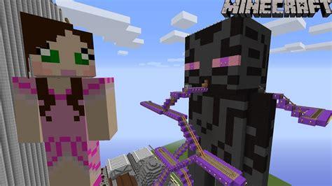 minecraft notch land giant enderman ride  youtube