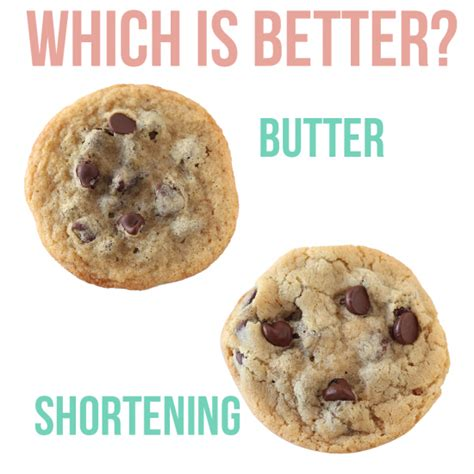 shortening vs butter butter vs shortening which is better handle the heat