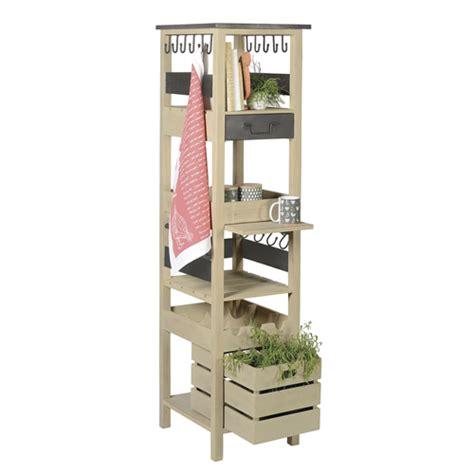 colonne de rangement cuisine colonne de rangement cuisine bois et métal jardin d 39 ulysse