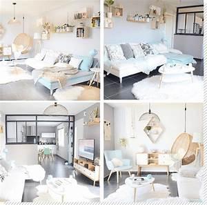 Luminaire Style Scandinave : salon scandinave top 10 instagram d coration cr ative ~ Teatrodelosmanantiales.com Idées de Décoration
