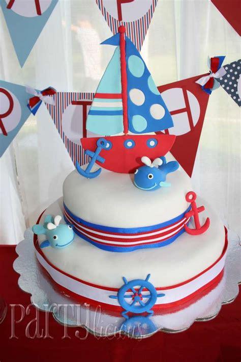 Nautical 1st Birthday Birthday Party Ideas  Photo 1 Of 16