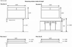 Kitchen worktop height room image and wallper 2017 for Bathroom window height from floor