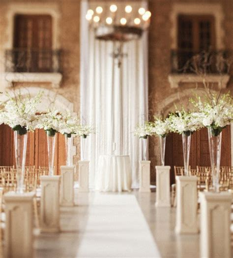 indoor ceremony decorations archives weddings romantique
