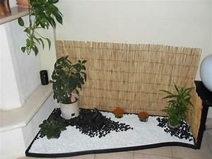 deco jardin zen interieur With déco chambre bébé pas cher avec petite plante d intérieur fleurie
