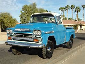 1959 Chevy 1  2 Ton Shortbed Napco 4x4 For Sale In