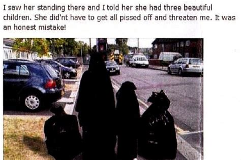 conservative councillor kicked   party  burqa image