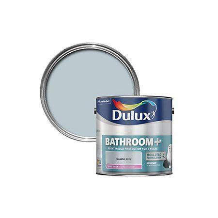 dulux bathroom coastal grey paint 2 5l departments diy at b q kitchen in 2019 grey