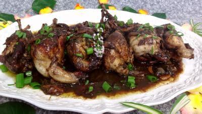cuisine caille cailles au vin recette volailles et gibiers