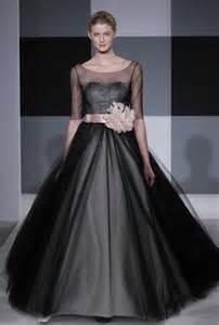 black sleeve wedding dresses black gown wedding dress with half sleevescherry cherry