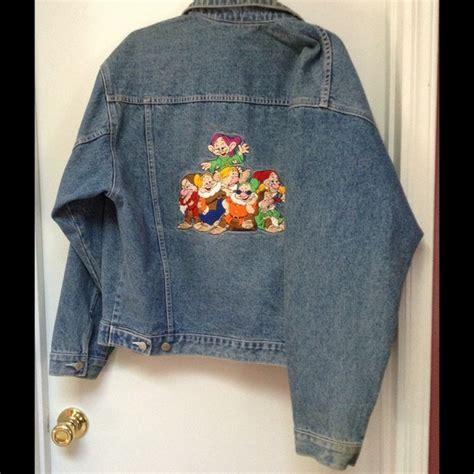 disney disney denim jacket medium  debbies closet