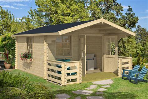 Gartenhaus Mit Terrasse Holz by Gartenhaus Quot Heidi D Quot Gartenh 228 User Blockbohlenhaus