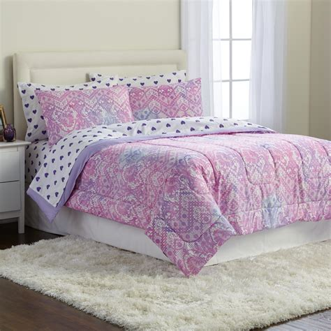joe boxer microfiber comforter set ombre lace home