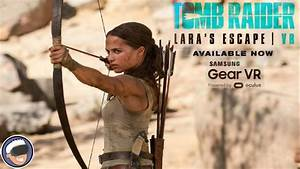 Lunchtime with my Gear VR - Tomb Raider VR: Lara's Escape ...