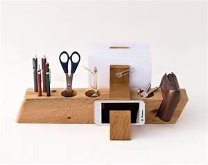 Large Desk Organizer Wood Desktop Organizer Office Organizer