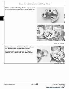 John Deere F510 F525 Residential Front Mowers Tm1475 Pdf