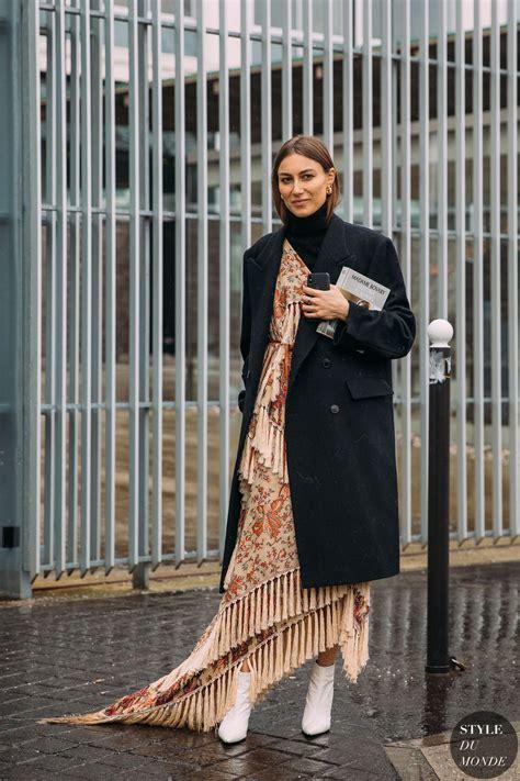 paris fw  street style giorgia tordini wardrobe