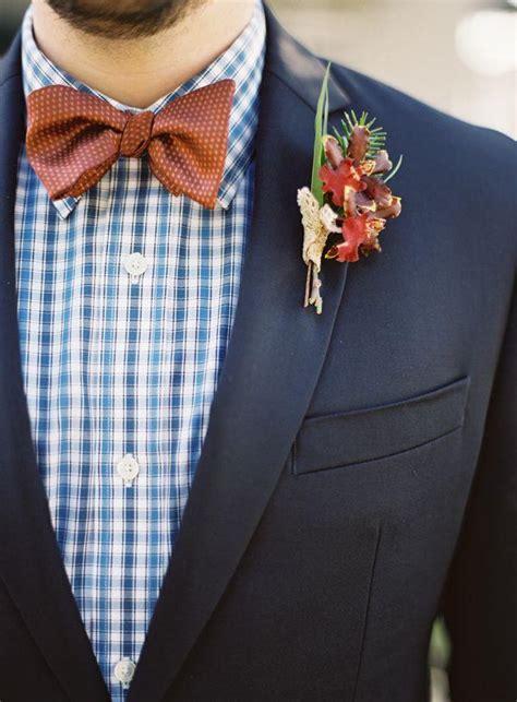 winter wedding grooms attire ideas deer pearl flowers