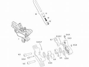 Bicycle Brake Caliper Parts