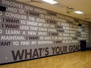 25 best ideas about fitness centers on pinterest gym With professional signs and lettering