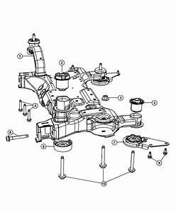 2010 Dodge Avenger Sxt 2 4l 4 Cyl A  T Isolator