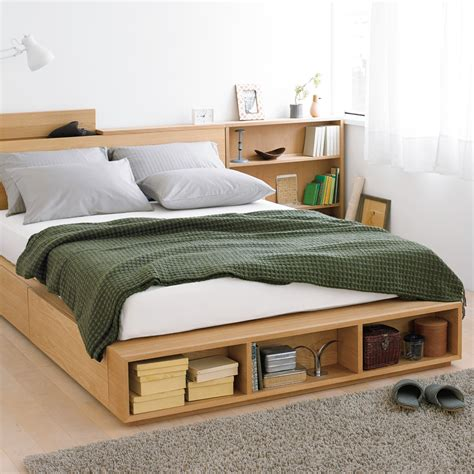the bed storage shelves muji online welcome to the muji online store