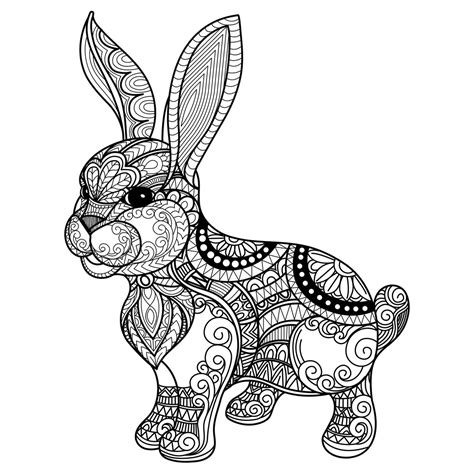 Click here and download the bunny mandala svg, easter svg graphic · window, mac, linux · last updated 2021 · commercial licence included ✓. RABBIT MANDALA VECTOR CDR FILE FREE - Download Free Vector ...