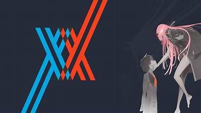 Darling Franxx Hiro Zero Wallpapers Neon 8k