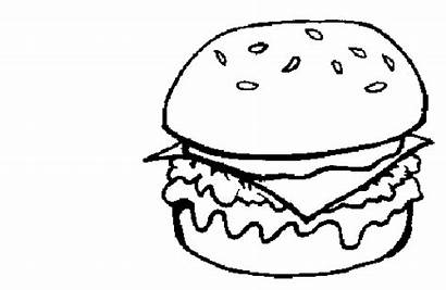 Colorear Dibujos Coloring Hamburguesa Burger Colorir Hamburguer