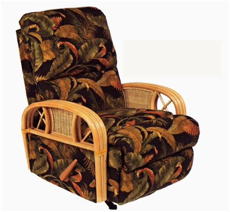 captiva rocker recliner rattan  wicker rockers