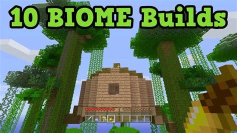 minecraft building ideas   biomes  build
