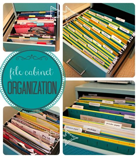 how to organize your file cabinet cleaning tips