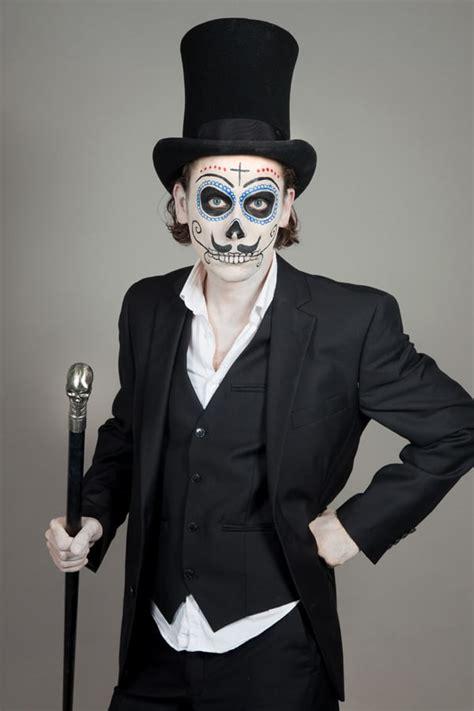 schminkanleitung  de los muertos   halloweende