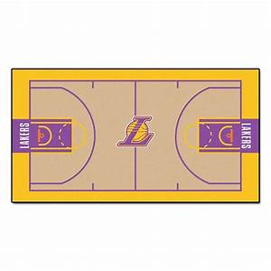 FANMATS NBA Los Angeles Lakers 2 ft 6 in x 4 ft 6 in