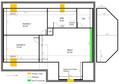 plan electrique chambre radiateur electrique chambre wikilia fr