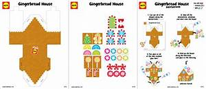 Gingerbread House Craft Project with Free Printable