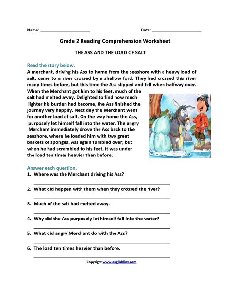 comprehension worksheet for year 6 save reading prehension