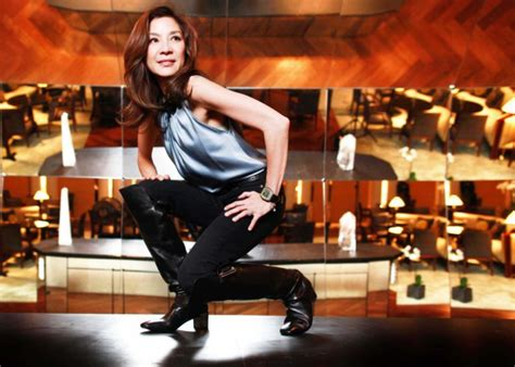 Martial Arts Film Star Michelle Yeoh On Ballet Babies And