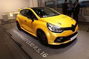 Renault Clio Serie Limitée Trend 2017 : renault dit non la clio rs 16 l 39 argus ~ Dode.kayakingforconservation.com Idées de Décoration