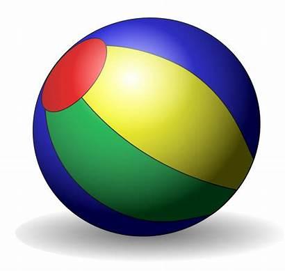Clipart Ball Clip Object Beachball Ballon Plage