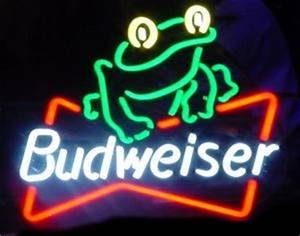 Budweiser neon beer sign tubes & parts