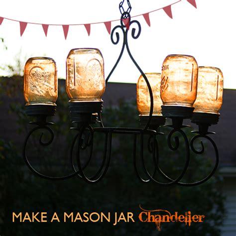 easy diy jar decor porch light