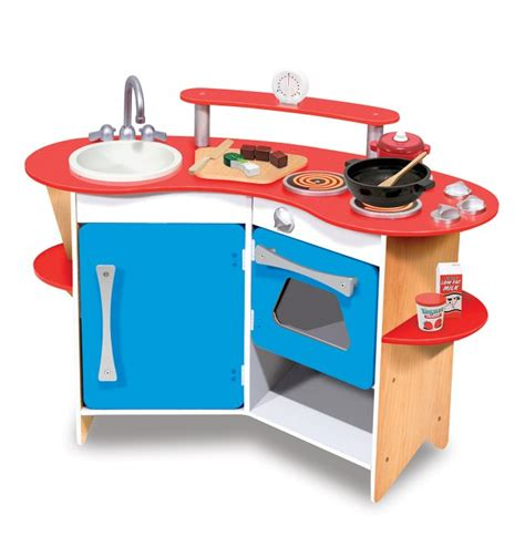 and doug kitchen doug cook s corner wooden play kitchen ebay
