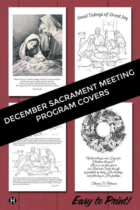 lds christmas program 8 best sacrament meeting programs images on church ideas lds church and lds clipart