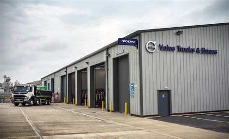 Volvo Truck And Bus Centre London Officially Opens New