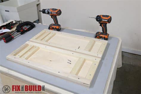 build  flip top tool stand fixthisbuildthat
