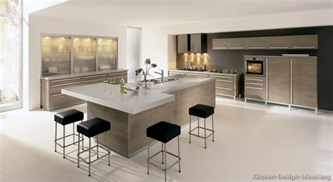 contemporary kitchen island ideas modern light wood kitchen cabinets pictures design ideas