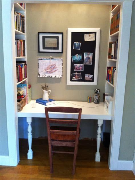 closet office space pinterest – Home Decor