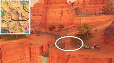 fortnite skeet shooting clay pigeon locations  map